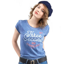3SECOND Ladies Tshirt 155111722 - Blue