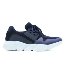 CAVALLERO BERTO 1 Synthetic Leather Men's Casual Shoes Navy