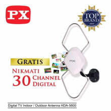 PX Digital TV Indoor / Outdoor Antenna HDA-5600