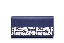 BONIA The Wall Two Fold Wallet - Dark Blue Blue [860233-502-13]