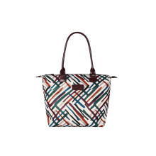 Lipault Draw The Fall Tote Bag M Chvr/Wn/Gr