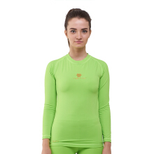 Baselayer Manset Rash Guard Compression Tiento Long Sleeve Green Stabilo