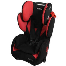 Recaro Performance Ride Car Seat - Black Red