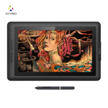 XP pen artist 15.6 display tablet drawing 8192 pressure level alternatiif cintiq Black One Size