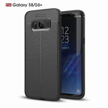 VOUNI SAMSUNG S8/S8 + case Cell phone shell luxury atmosphere protects simple leather cover