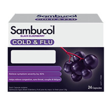 SAMBUCOL Cold And Flu Capsules - Isi 24