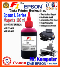 F1 Ink For Epson L Series Magenta 100 ml