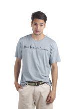 POLO RALPH LAUREN - Custom-Fit Top Dyed T-Shirt Sky Blue Men