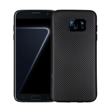 Smatton SAMSUNG S7 Case Carbon Fiber Cover For Luxury Soft Ultra Thin Case