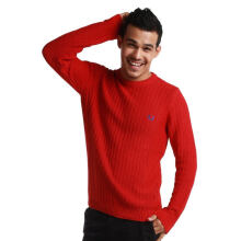 Fredperry Men Red Knit Sweater - XL Size