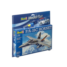 REVELL Model Set F/A - 18C Hornet - Plastic Model - Multicolor