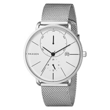 Skagen Hagen White Dial Stainless Steel Man Multifunction Watch [SKW6242]