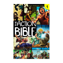 The Action Bible 1 by Sergio Cariello - Religion Book 9786028930352