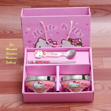 RADYSA Set Mangkok - Hello Kitty Pink Others