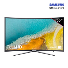 [DISC] SAMSUNG Full HD Curved Smart LED TV 55 Inch - 55K6300