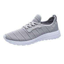 BESSKY Unisex Summer Sneakers Beathable Mesh Casual Shoes Lace-up Travel Shoes_