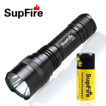 LED Flashlight 1100 Lumens 10W Rechargable Portable Light Super Bright Olight  CREE XML-2 LED Lamp Camping Fishing Torchlight Black
