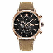 Lee Watch LEF-M127ARL5-1R Jam tangan pria Brown