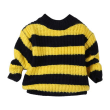 BESSKY Toddler Kids Baby Girls Knitted Sweater Pullovers Crochet Blouse Tops Clothes_