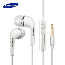 Samsung original headphones in-ear earphone universal White