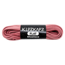 KIPZKAPZ FS22 Flat Shoelace - Pink Rose [6mm]