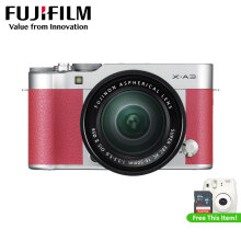 FUJIFILM X-A3 Kit XC 16-50mm f/3.5-5.6 OIS II (Brown) + Instax Mini 8