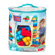 MEGABLOKS Big Building Bag Classis (80 pcs) DCH63