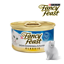 FANCY FEAST CLASSIC WHITEFISH TUNA 85gr [6 Pcs]