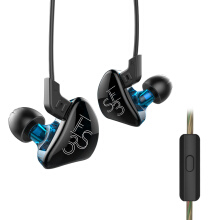 KZ KZ - ES3 In-ear Detachable HiFi Music Earphones with Hybrid Driver Units with Mic