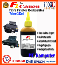 F1 Ink For Canon Yellow 100 ml