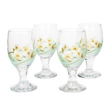 BRILIANT Goblet GM1044 Set Of 4 - Green