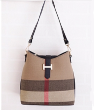 Ins D-132 Lady's bag-Brown&Black