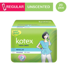 KOTEX Fresh Liner Unscented - 20 S