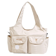 BABY SCOTS Tas Perlengkapan Bayi MOMMY BAG PLATINUM - Diapers Bag MB30 Creme
