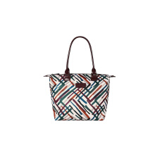 Lipault Draw The Fall Tote Bag S Chvr/Wn/Gr