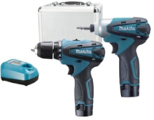 CORDLESS LI-Ion COMBO KIT( DF 330 D + TD 090 D ) LCT 204