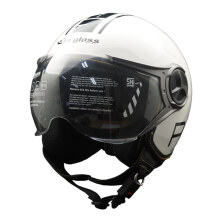 Cargloss YR Protect Helm Half Face - Sp. Whity White