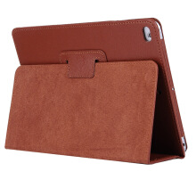 Keymao Apple iPad Air 1/iPad 5 Case Matte Soft Flip Litchi PU Leather
