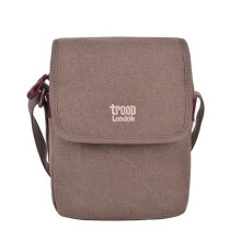 Troop London Shoulder Bag Canvas K718 Brown