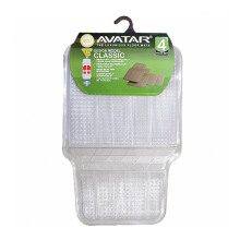 AVATAR 6003 Karpet Mobil - Clear [4Pcs]