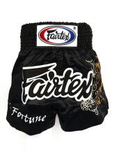 FAIRTEX Boxing Short My Fortune BS0639 - Black S