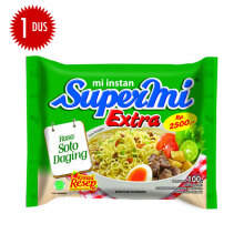 SUPERMI Extra Rasa Soto Daging Carton 100 gr x 40 pcs