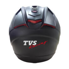 TVS Official Gear by NHK Helm Full Face - Black