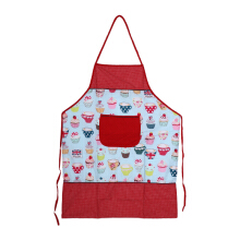 ARNOLD CARDEN Kitchen Apron Cup Cake  - Red 58x75cm