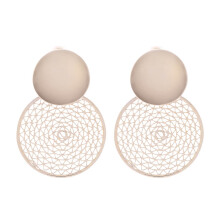 VOITTO Fashion Jewelry Web Circle B3 Earrings