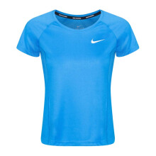 NIKE As W Nk Dry Miler Top Crew - Lt Photo Blue