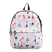 VOITTO Backpack 1716 Cats - Grey