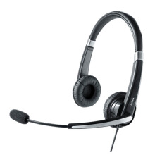JABRA UC Voice 550 Duo Headset - Black