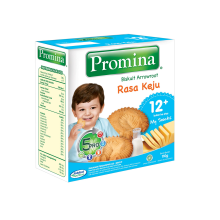 PROMINA 12+ Biskuit Arrowroot Keju Box - 110gr
