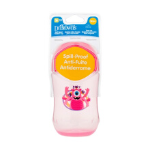 Dr. Brown's SoftSpout Toddler Assorted Stage 2: 9m+ TC91001-INTL Cup - Pink [9 oz/270 mL]